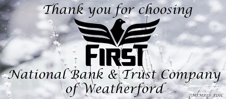 first national bank and trust company of weatherford